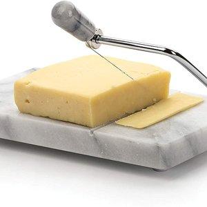 RSVP Cheese Slicer Marble White