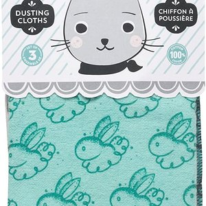 Now Designs Dusting cloth set/3 dust bunny