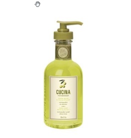 FRUIT & PASSION Cucina HAND SOAP CORIANDER & OLIVE in a glass 200ML