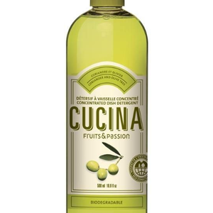FRUIT & PASSION Cucina DISH DETERGENT CONCENTRATED  CORIANDER & OLIVE