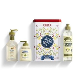 FRUIT & PASSION Cucina KITCHEN TRIO SEA SALT & AMALFI- Gift Box