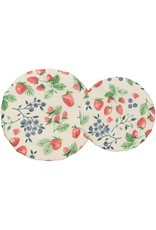 Danica Bowl Cover Set of 2 Berry Patch