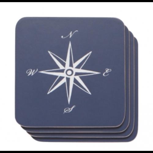 Danica Coaster Compass Set/4
