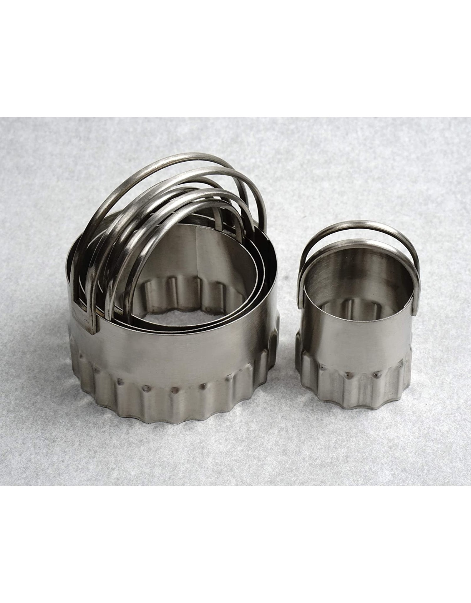 RSVP Biscuit cutters - Rippled