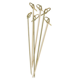 "RSVP Bamboo Knot Picks 6.5"" - 50pcs"