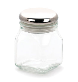 RSVP Spice Jar Glass Airtight w/SS