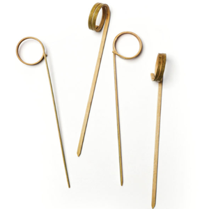 RSVP Picks Bamboo rings set/50