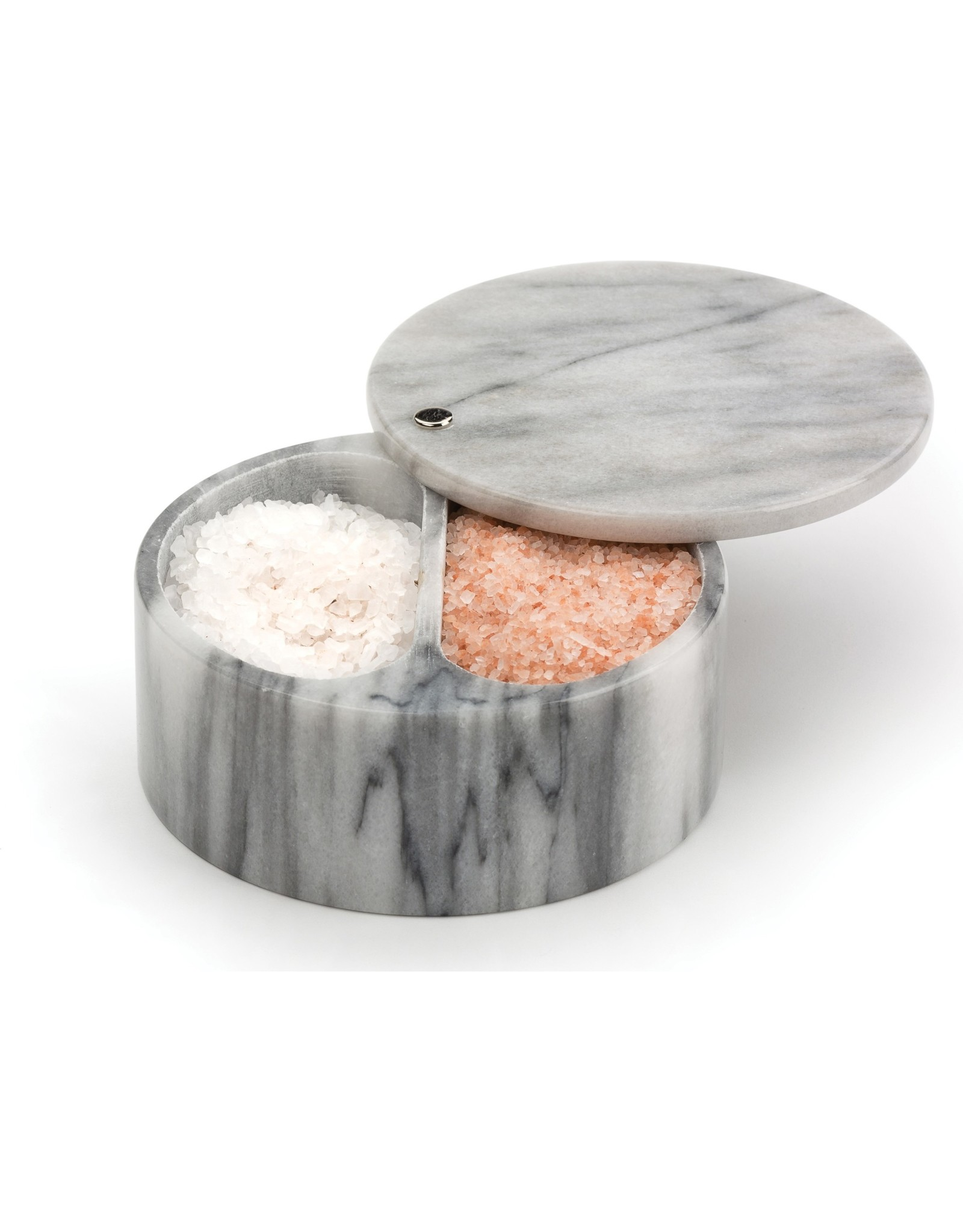 Danica SWIVEL SALT BOX - WHITE MARBLE