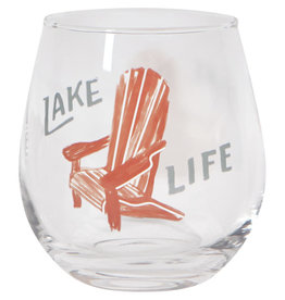 Danica Wine Glass Lake Life