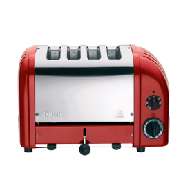 Dualit DUALIT 4 slot Toaster RED