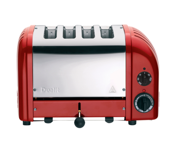 DUALIT 4 slot Toaster RED