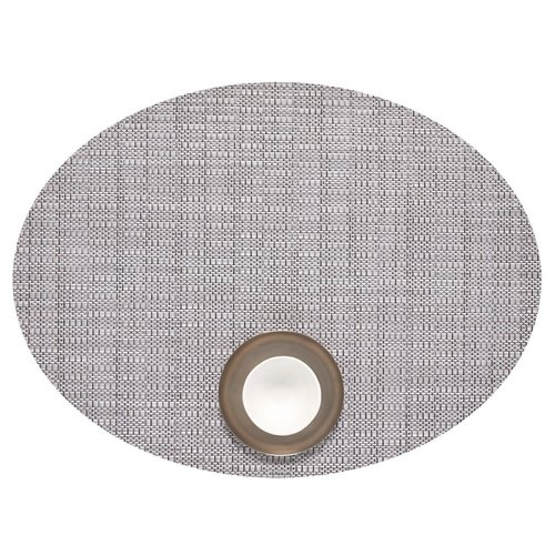 PLACEMAT OVAL THATCH DOVE