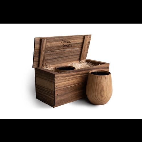 Stinson Studios Oak Tumbler Gift Set STINSON