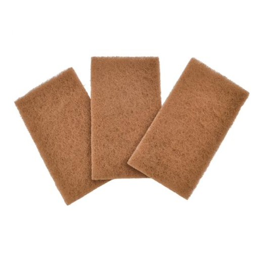Full Circle FULL CIRCLE SCOURING PAD WALNUT SHELL/SET OF 3