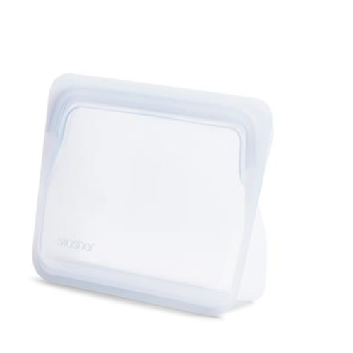 Stasher Stasher Reusable Stand-Up Storage Bag Mini 828 ml Clear