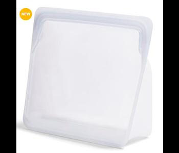 Stasher Reusable Stand-Up Storage Bag Mega 3 L. Clear