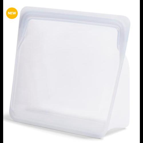 Stasher Stasher Reusable Stand-Up Storage Bag Mega 3 L. Clear