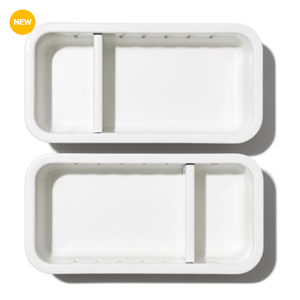 "OXO OXO 3"" X 6"" ADJ DRAWER BIN/ SET OF 2"