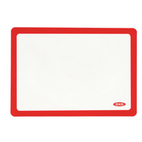 """OXO SILICONE BAKING MAT RED 11.75"""" X 16.5"""""""