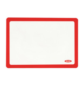 "OXO OXO SILICONE BAKING MAT RED 11.75"" X 16.5"""