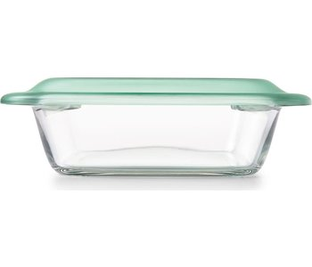 """OXO 8"""" SQUARE GLASS BAKER WITH LID"""
