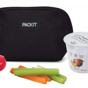 PackIt PACKIT Snack Bag BLACK Pouch Style