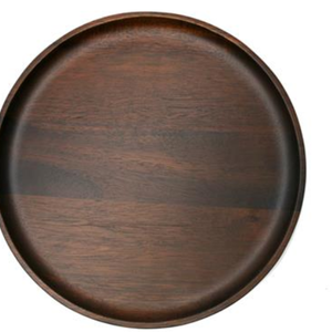 Natural Living NATURAL LIVING Medium Round Plate Acacia Wood 25cm