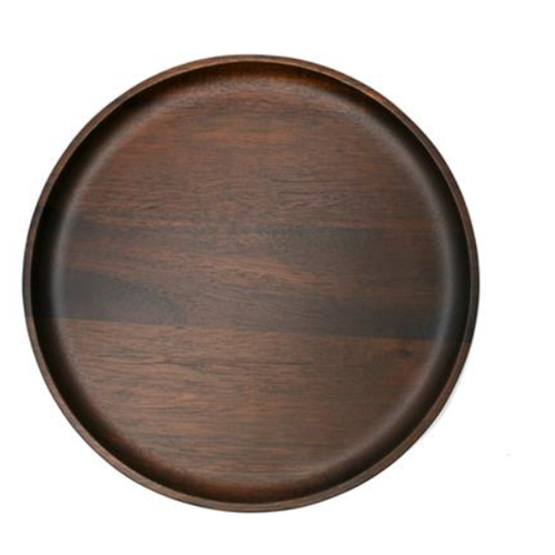 Natural Living NATURAL LIVING Large Round Plate Acacia Wood 30 cm