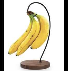 Danesco NATURAL LIVING Banana Hanger ACACIA & IRON