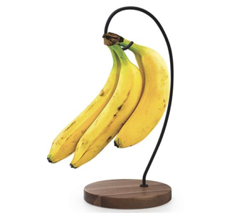 NATURAL LIVING Banana Hanger ACACIA & IRON