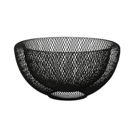 Danesco Mesh Bowl Large Black 30cm