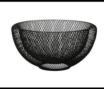 Mesh Bowl Large Black 30cm