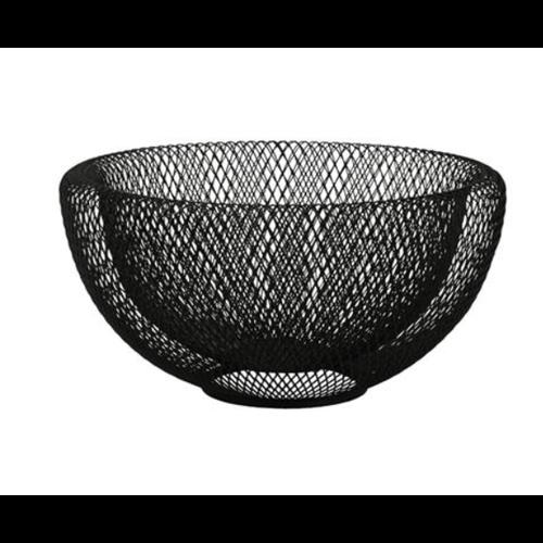 Natural Living Mesh Bowl Large Black 30cm
