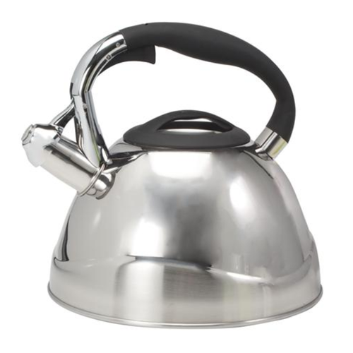 """CH'A Tea CH'A Whistling Kettle """"VIO"""" Stainless Steel 2.6 QT"""