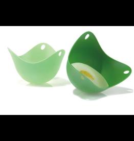 FUSION BRAND Fusion Brand Egg Poach Pod Green Set/2