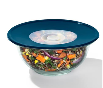 """OXO Med. Reusable Silicone Lid 8"""" Blue"""