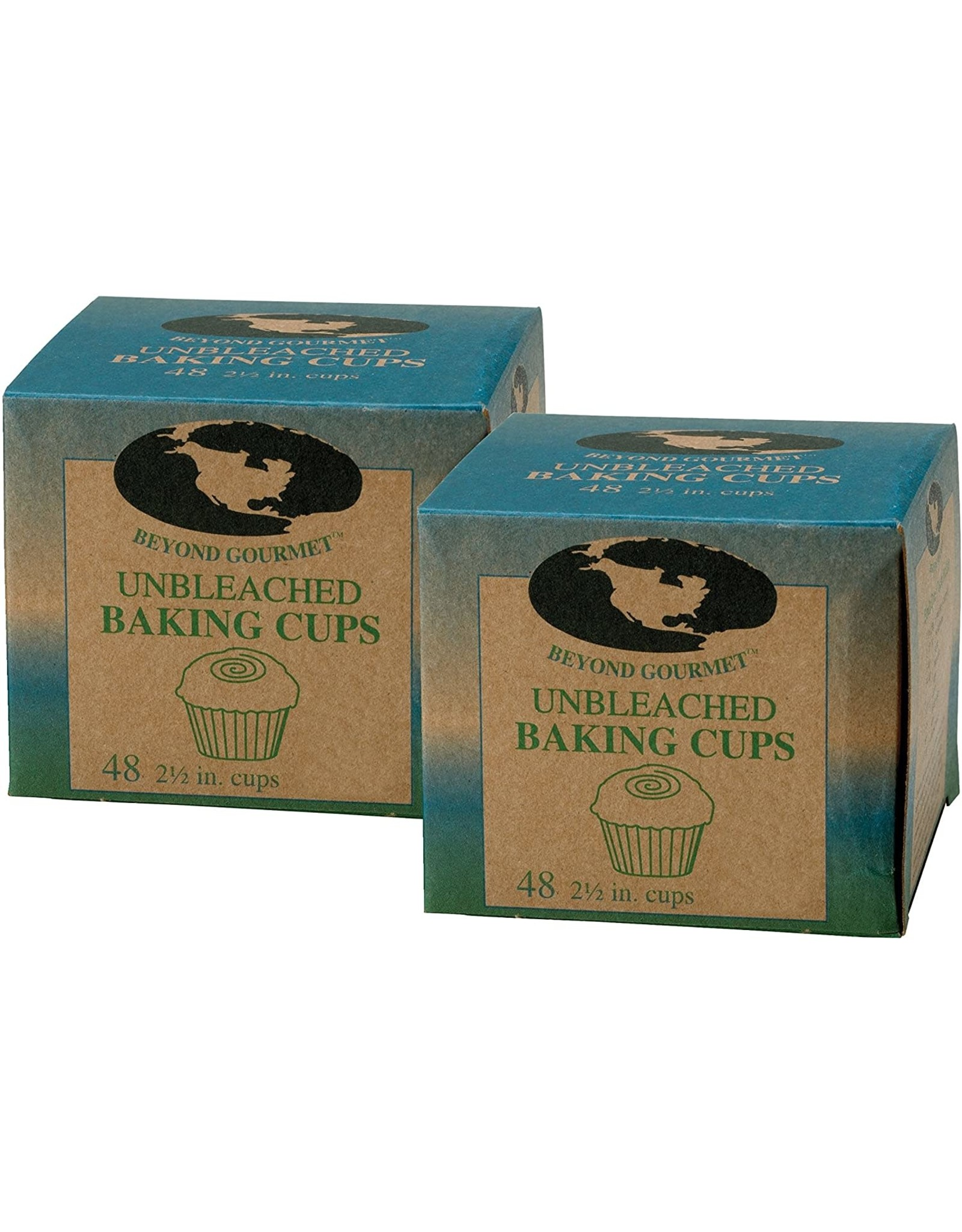 Harold Import Company BAKING CUPS LARGE UNBLEACHED