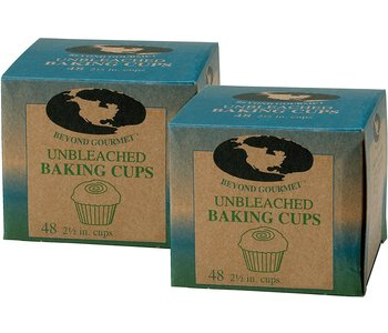BAKING CUPS LARGE UNBLEACHED Muffin