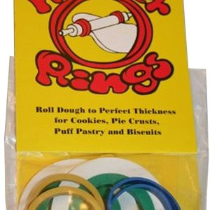 Harold Import Company ROLLING PIN RINGS - CARDED