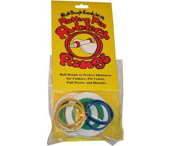 ROLLING PIN RINGS - CARDED