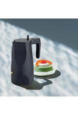 Alessi ALESSI  Espresso Coffee Maker - 3 cup - Black