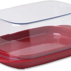 Rosti Butter Dish 1lb Red Rosti Mepal