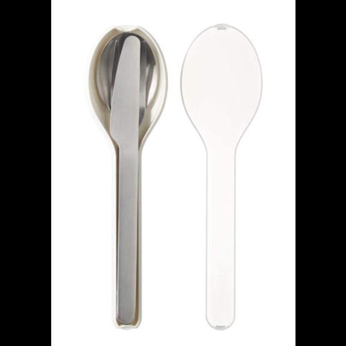 MEPAL MEPAL Ellipse Cutlery Set/3pcs WHITE