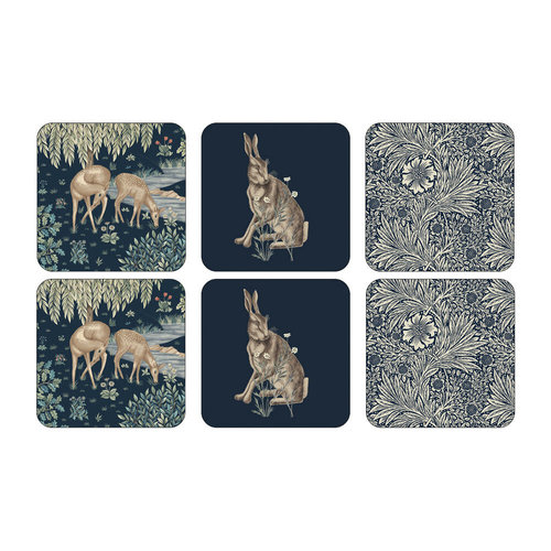 Pimpernel Coasters Morris Wightwick/ Set of 6