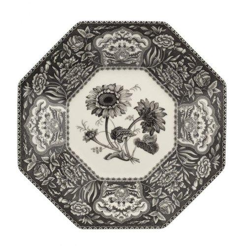"Spode HERITAGE Octagonal Platter 14"" FLORA"