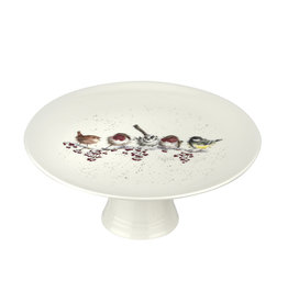 Royal Selangor Portmeirion WRENDALE Footed Cake Stand ONE SNOWY DAY