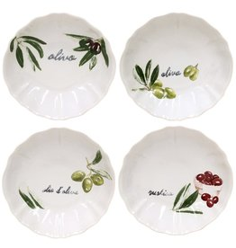 David Shaw Tableware OLIVIA Soup/Pasta Bowl/Set of 4