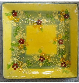 French Made Plate small square SOULEO PROVENCE