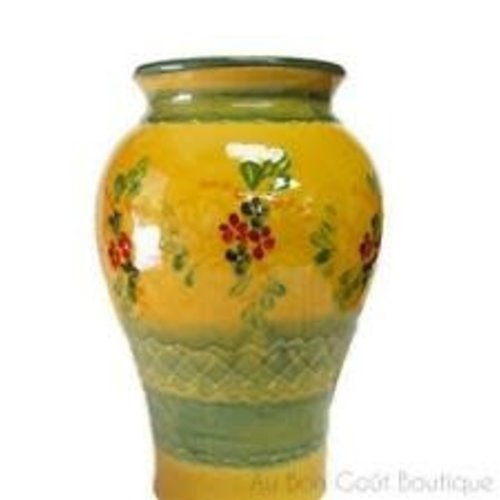 French Made Vase round SOULEO PROVENCE