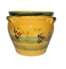French Made Flower pot small SOULEO PROVENCE